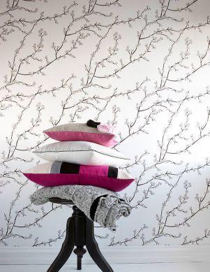 Papel de parede Kyoto branco creme Ver quarto
