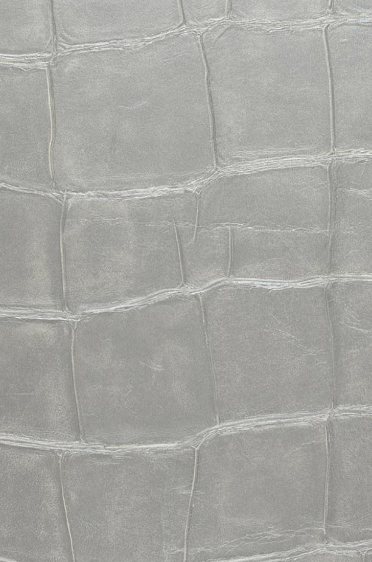 papier peint croco 08 gris argent papier peint des ann es 70. Black Bedroom Furniture Sets. Home Design Ideas