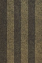 Wallpaper Berenice Matt Stripes Brown grey Khaki grey