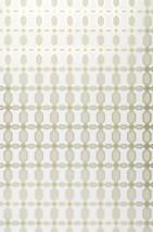 Wallpaper Diamonds Shimmering pattern Matt base surface Rhombus elements Cream Yellow green Light grey beige Silver