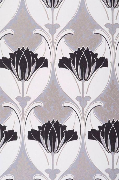 Archiv Wallpaper Lucina light grey Roll Width