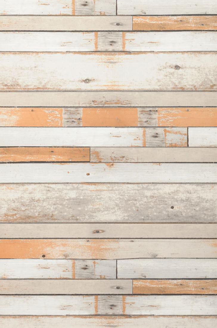 papier peint shabby planks gris beige blanc cr me blanc. Black Bedroom Furniture Sets. Home Design Ideas
