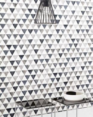 Wallpaper Masell grey tones Room View