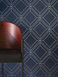 Wallpaper Malekid dark blue