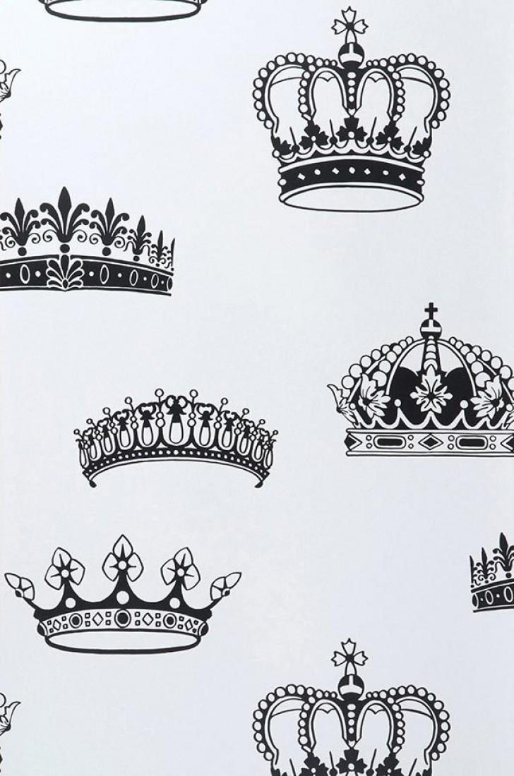 carta da parati save the queen bianco nero carta da parati degli anni 70. Black Bedroom Furniture Sets. Home Design Ideas