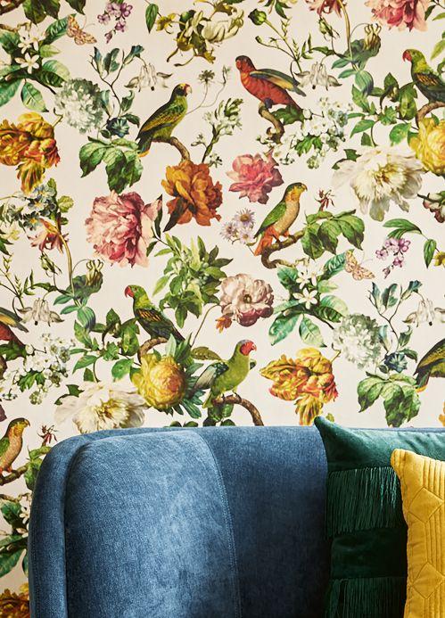 Classic Wallpaper Wallpaper Margarete cream Room View