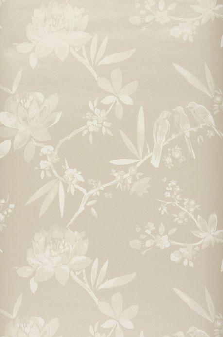 Archiv Wallpaper Nekami light grey beige Roll Width