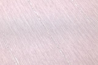 Papier peint Viviane Chatoyant Rayures Violet pastel Argent scintillant