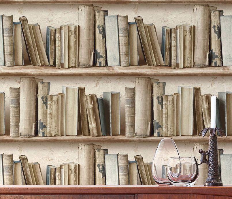 Archiv Papel de parede Jimen bege acinzentado Ver quarto