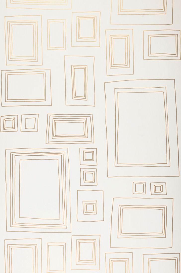 Wallpaper Frames (White, Gold)   Wallpaper from the 70s