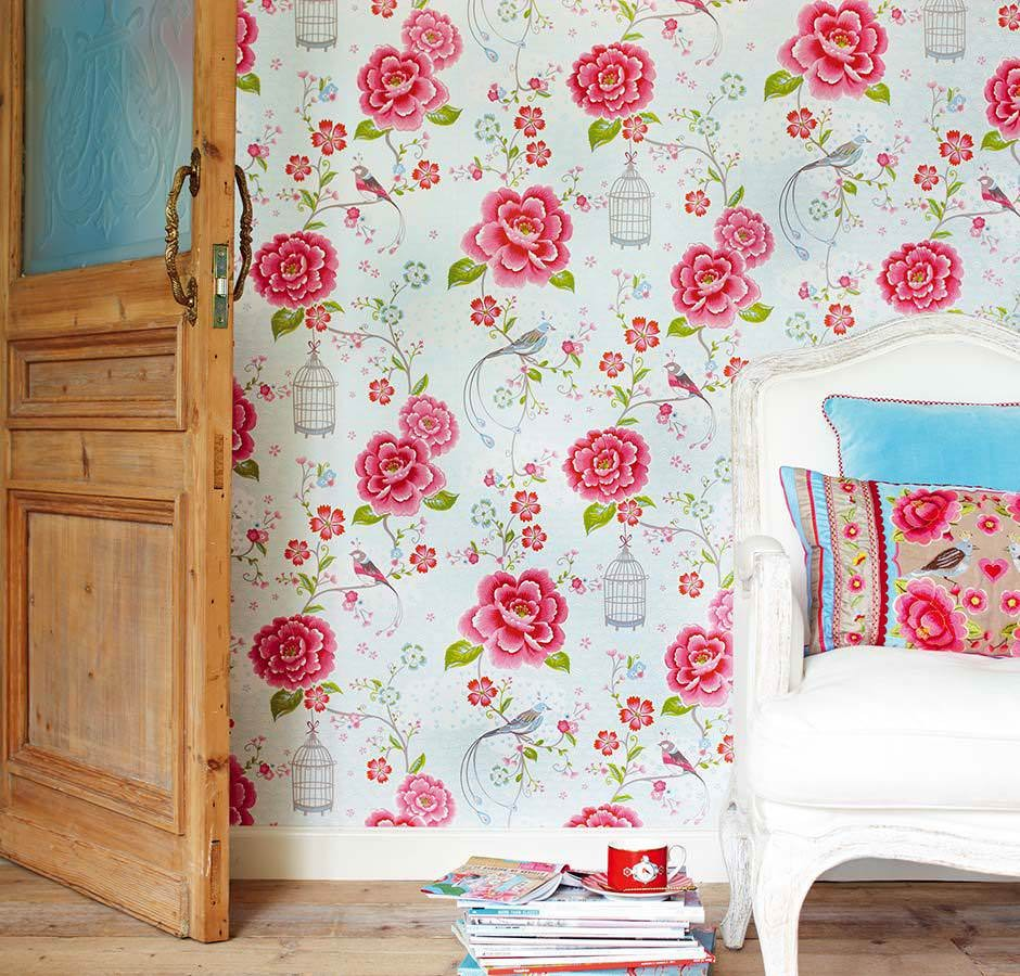 English Country Cottage Tapetentrends Lookbook Tapeten Der 70er