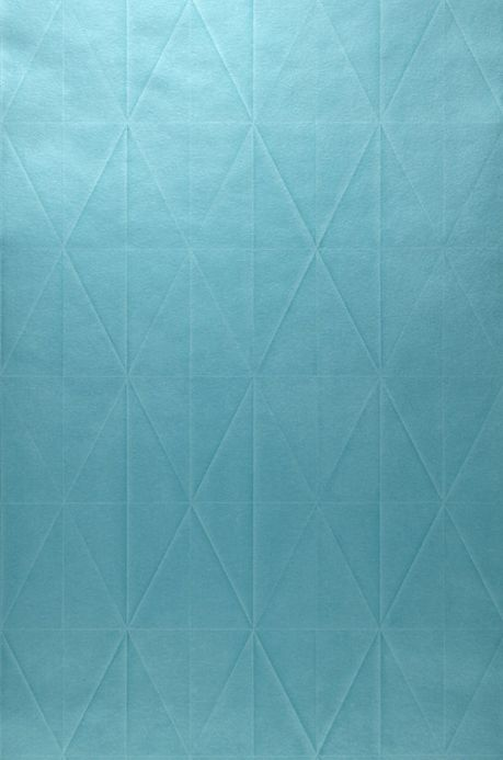 Archiv Wallpaper Origami turquoise blue Roll Width