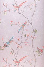 Papel de parede Comtesse rosa pálido