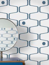 Wallpaper Nirvanus dark blue