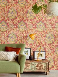 Wallpaper Lompal orient red