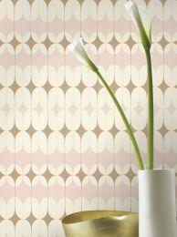 Wallpaper Yukina pale pink