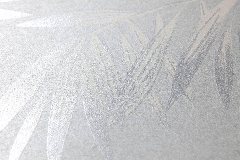 Carta da parati aria bianco grigiastro avorio chiaro for Carta da parati avorio