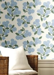 Wallpaper Hydrangea white