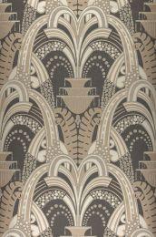 Wallpaper Kisum pale grey brown