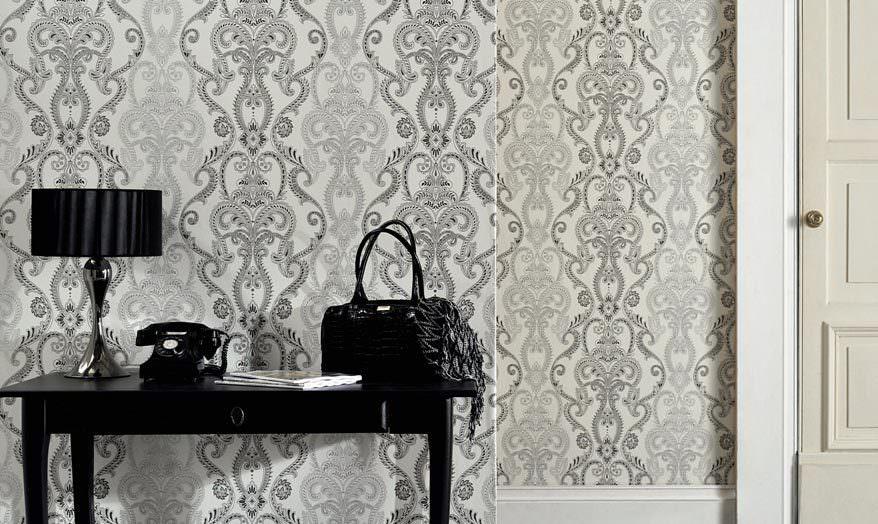 Rosa Tapeten Schlafzimmer : Barock Tapeten f?r exzellente Wohntr?ume Prachtvolle Tapeten