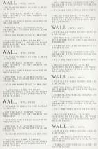 Wallpaper Floyd Matt Words Cream Black