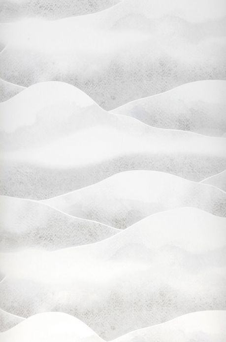 Archiv Papel pintado Morning Mountains blanco grisáceo Ancho rollo