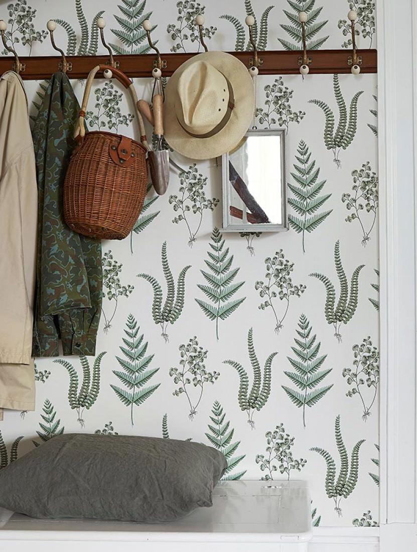 tapete natali cremeweiss blassgr n braungrau. Black Bedroom Furniture Sets. Home Design Ideas