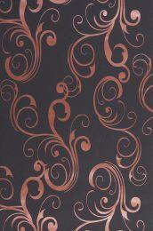 Wallpaper Occodo copper metallic