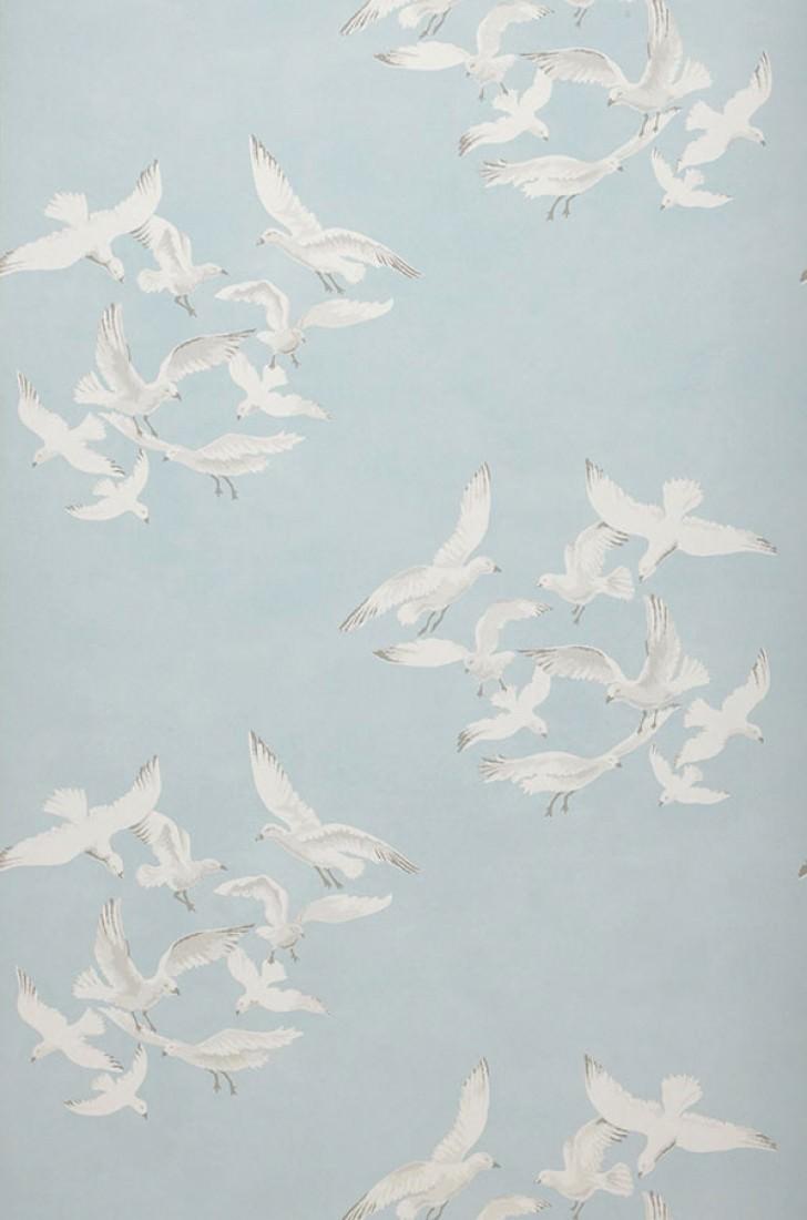 greta pastellhellblau grau weiss romantische tapeten. Black Bedroom Furniture Sets. Home Design Ideas