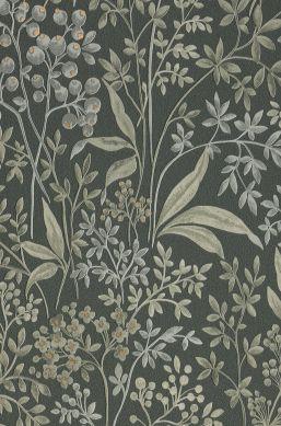 Papier peint Pilar vert gris A4-Ausschnitt
