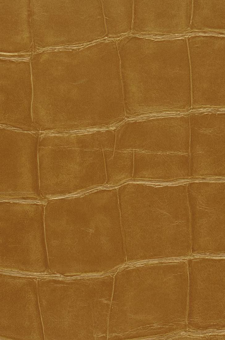 Croco 09 dor dor papier peint cuir mati res papier peint des ann e - Papier peint effet croco ...