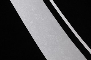 Wallpaper Nabo Shimmering base surface Stripes Silver metallic Black