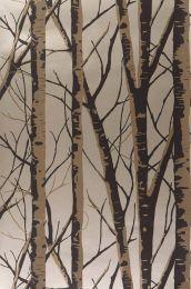 Papel pintado Diomedes negro