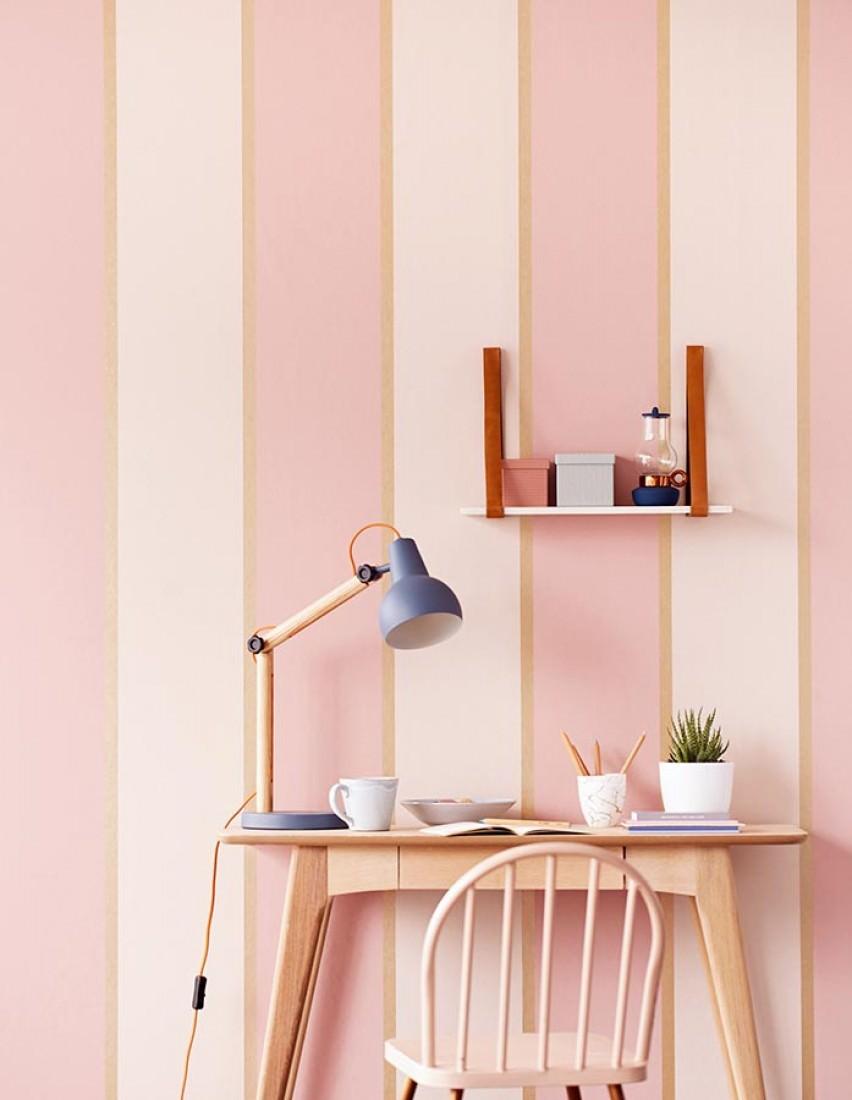 tapete tyra creme hellrosa perlgold tapeten der 70er. Black Bedroom Furniture Sets. Home Design Ideas