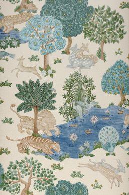 Wallpaper Sumatra cream Bahnbreite