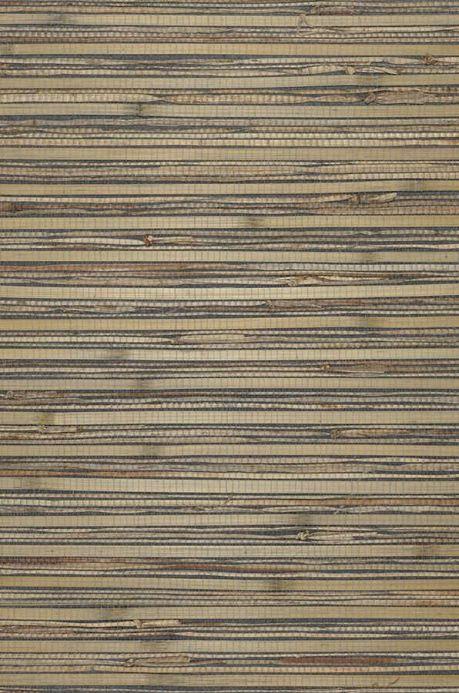 Carta da parati naturale Carta da parati Natural Bamboo 01 grigio verde Ritaglio A4