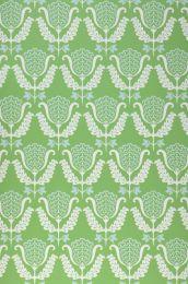 Papel de parede Zarina verde pera