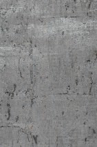 Wallpaper Natural Cork 04 Matt pattern Shiny base surface Solid colour Pearl dark grey Silver grey lustre