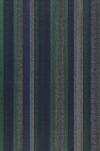 Papel de parede Tekin Mate Listas Preto Verde pérola Azul violeta Branco