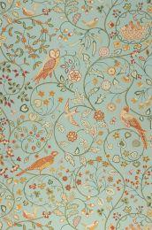 Papel pintado Jorinde turquesa menta claro