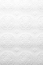 Wallpaper Derby Matt Historic damask White