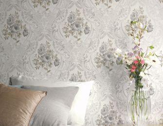 Wallpaper Meoni grey