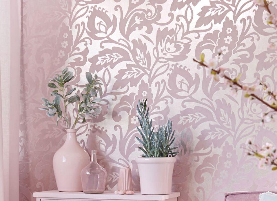 Archiv Wallpaper Aphrodite pale rosé Room View