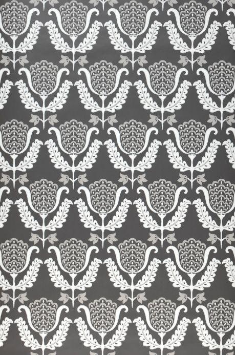 Archiv Papier peint Zarina gris ombre Largeur de lé