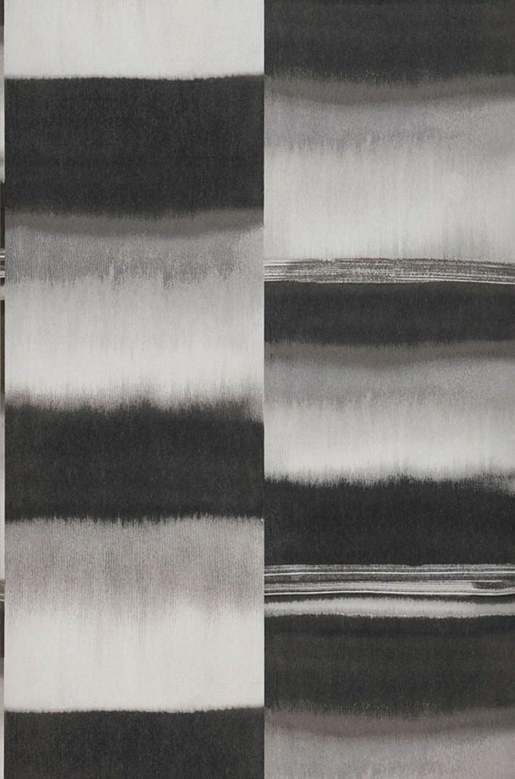 Papel pintado fenegra tonos de gris blanco papeles de los 70 - Papel pintado de los 70 ...