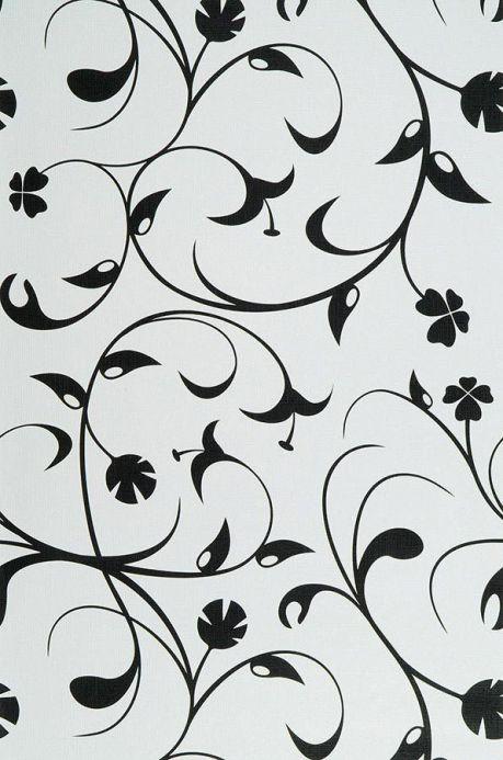 Archiv Papier peint Cybele noir Largeur de lé