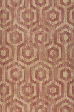 Wallpaper Marno claret coloured Roll Width