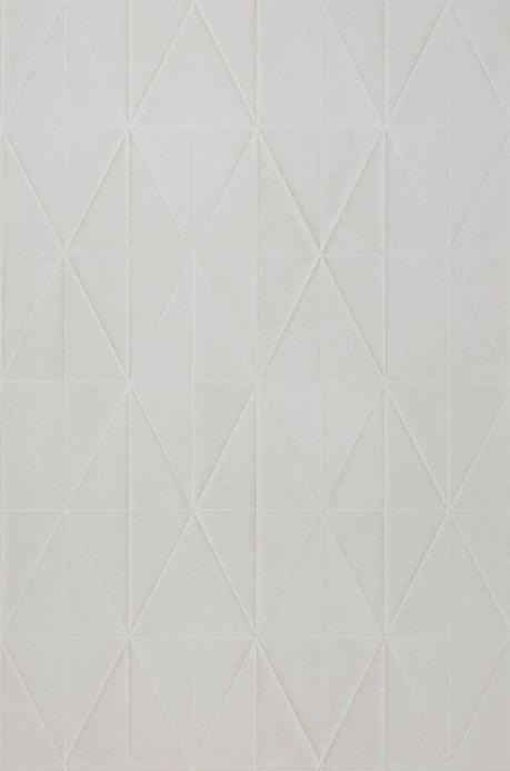 Archiv Papel de parede Origami bege acinzentado claro Largura do rolo