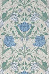 Wallpaper Anita mint turquoise