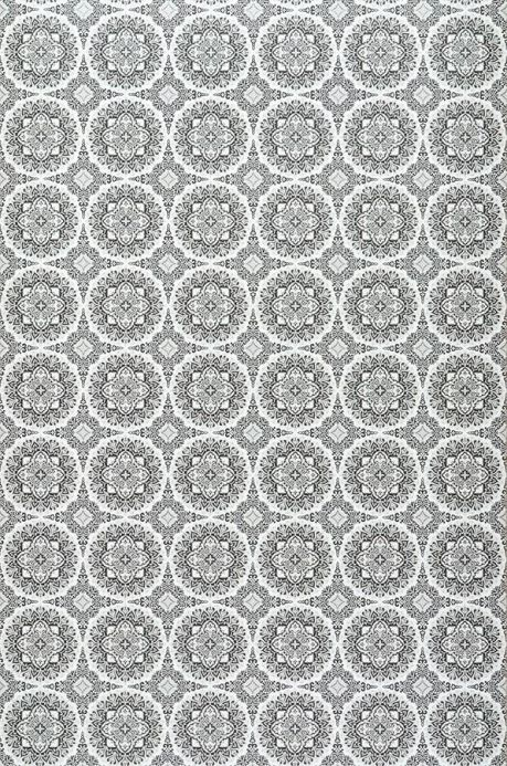 Archiv Papel pintado Finola gris claro Ancho rollo